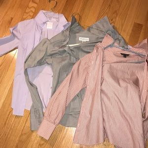 LOT OF 3 Brooks Brothers Blouses